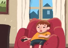 """Ilustración del cuento """"¡Qué rollo aburrirse!"""""""