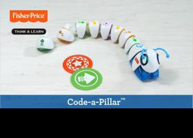 Codi-oruga de Fisher Price
