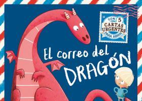 """Portada del cuento """"El correo del Dragón"""""""