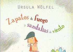 """Portada del libro """"Zapatos de fuego y Sandalias de viento"""""""