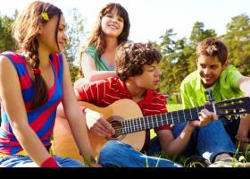 Grup d'adolescents