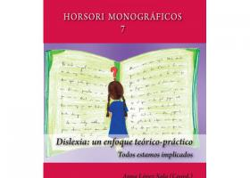 """Portada del llibre """"Dislexia: un enfoque teórico-práctico. Todos estamos implicados""""."""