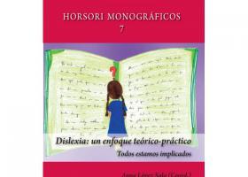 "Portada del libro ""Dislexia: un enfoque teórico-práctico. Todos estamos implicados""."