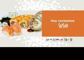 Hoy cocinamos sushi