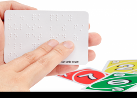 Juego UNO Braille