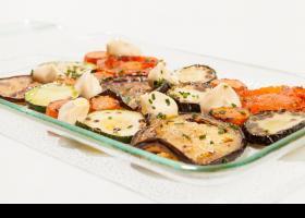 Recepta mosaic de verdures