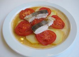 Receta de merluza con patatas