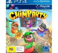 Portada del videojoc Chimparty