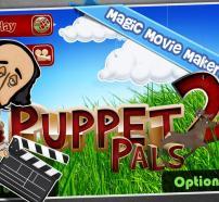 """Portada de l'app """"Puppet Pals 2"""""""