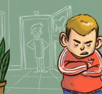 """ilustración del cuento """"El Cómic"""""""