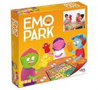 caixa EMO PARK amb representació del joc