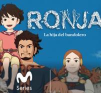 Ronja, la filla del bandoler, títol de l'animació japonesa aquí suggerida