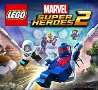 Portada del videojuego Lego Marvel Super Heroes 2