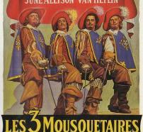 """Cartell de la pel·lícula """"Els tres mosqueters"""""""