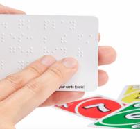 Joc UNO Braille