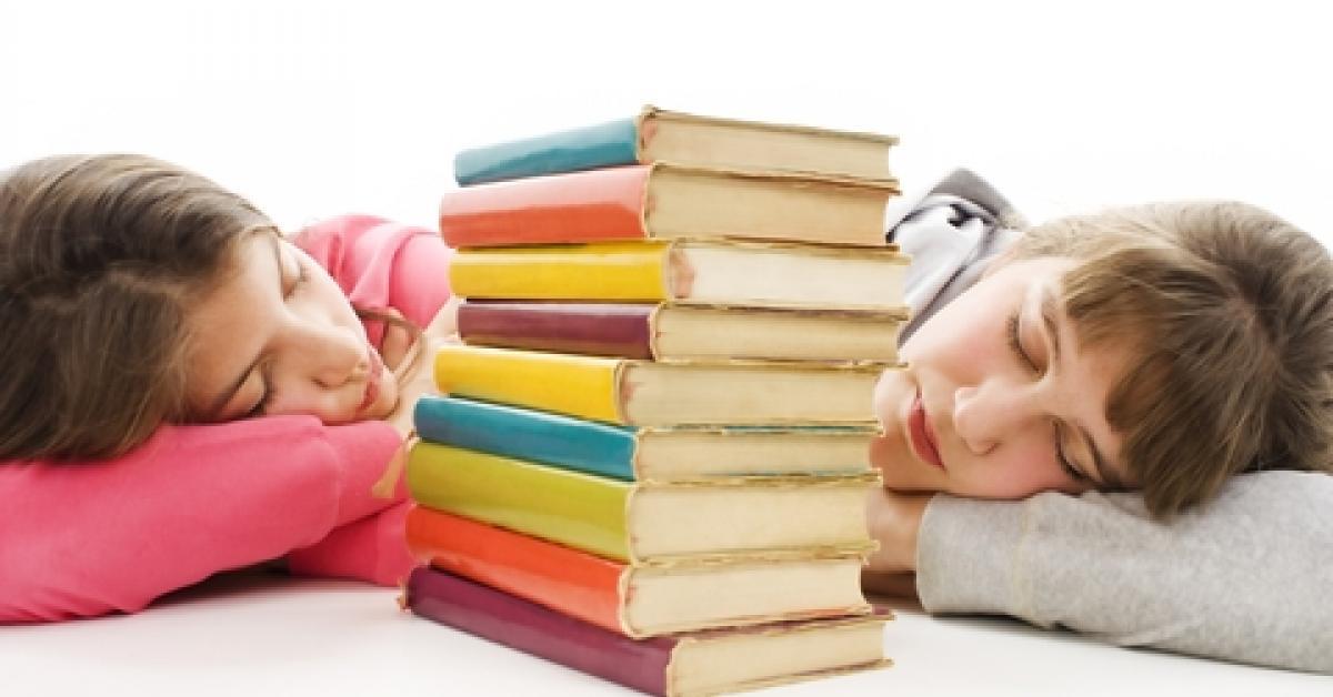 La falta de sueño, uno de los principales motivos del fracaso escolar