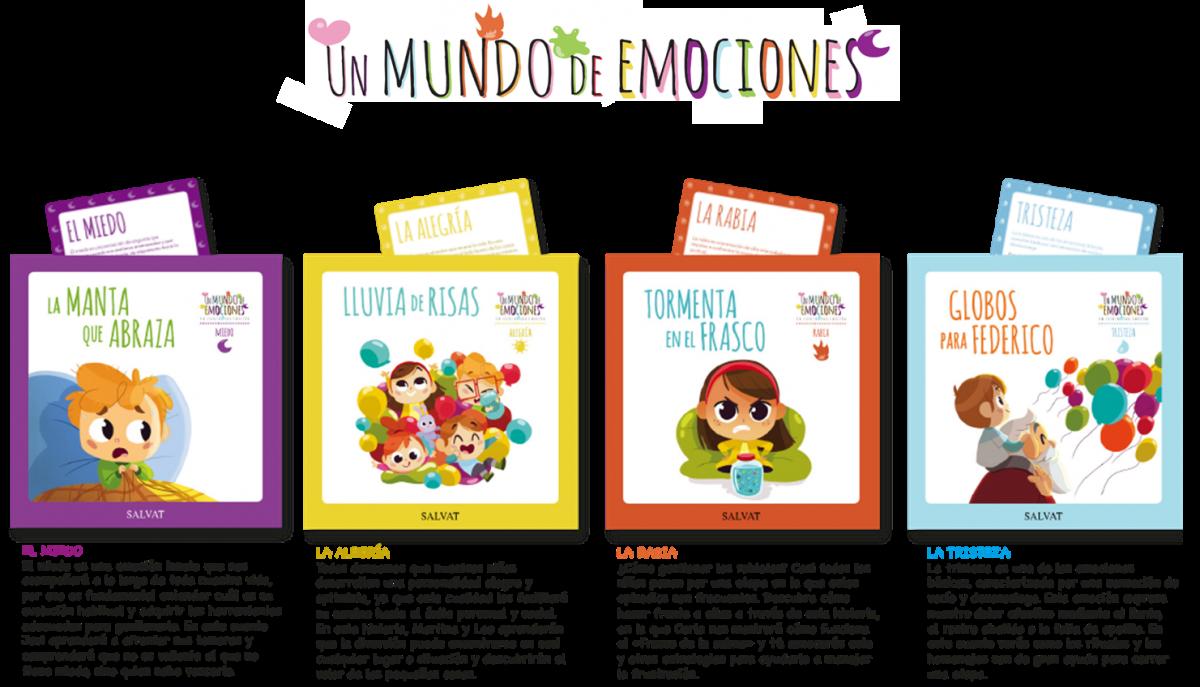 Un Mundo De Emociones, Una Colección De Cuentos Para Que